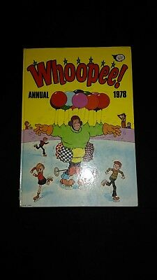 Whoopee 1978 Vintage U.K Comic Book Annual