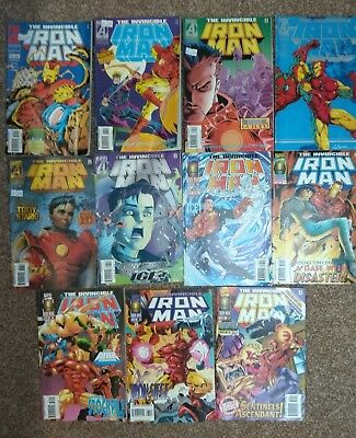 Iron Man issues 322-332.