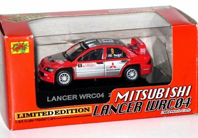 CM`S japan RALLY CAR 1/64 MITSUBISHI LANCER WRC04 monte carlo limited edition