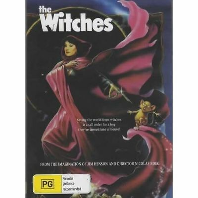 The Witches DVD Brand New and Sealed Australia All Regions