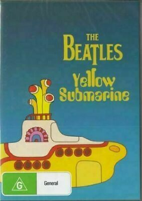 The Beatles The Yellow Submarine DVD New And Sealed Australia All Regions