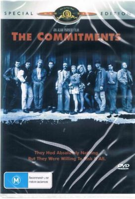The Commitments DVD New and Sealed Australia All Regions