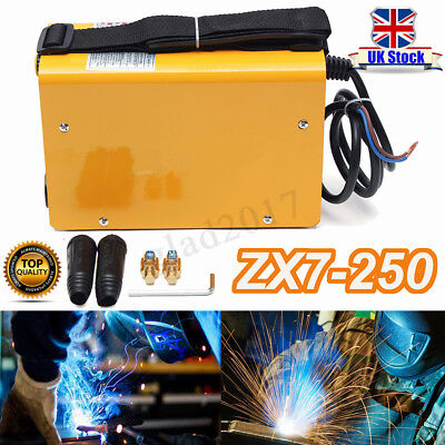 ZX7 250A Portable Welder IGBT Electric Inverter MMA/Arc Welding Machine 250 Amp