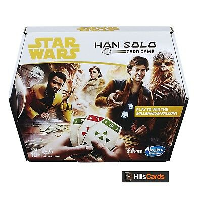 Han Solo Card Game - Sabacc - Star Wars - Win the Millennium Falcon HASE2445EU4