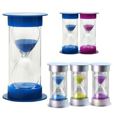 Sand Egg Timer Minutes Teaching Games Hourglass Sandglass Timing Second Set