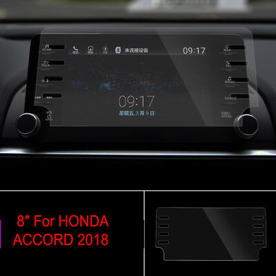 For HONDA ACCORD 2018 Tempered Glass Navigation System Car Screen Protector