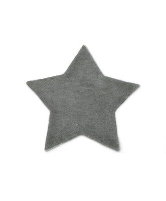 NEW Mamas and Papas Grey STAR Unisex Wool Floor Nursery Rug