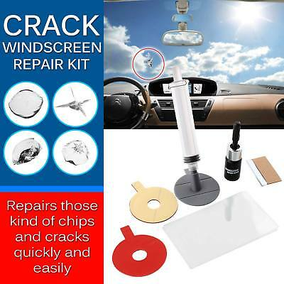 Premium Car Crack Windscreen Repair Kit DIY Chip Windshield Glass Wind Screen UK
