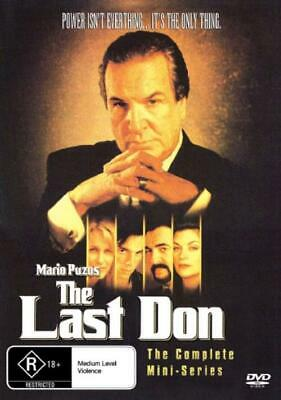 The Last Don DVD New and Sealed Australia Region All