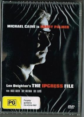 The Ipcress File DVD New and Sealed Australia All Regions