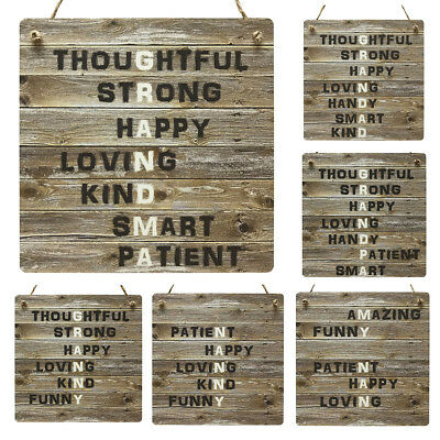 Grandparents Gifts Wooden Style MDF Plaque Grandma Grandpa Nan Nanny Gran Sign