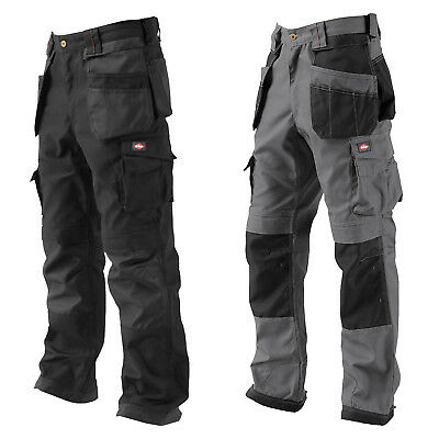 Lee Cooper Workwear Mens Classic Knee Pad Pocket Cargo Work Trousers Size 30-32W