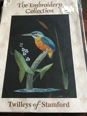 "Twilleys of Stamford The Embroidery Collection ""Kingfisher"" KIt"