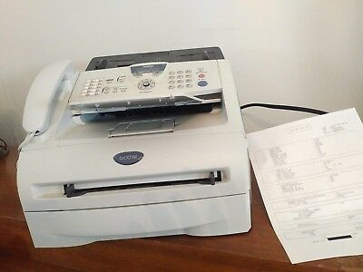 Brother IntelliFAX 2820 Copier All-In-One Laser Printer Tested 1343 pages (C66)