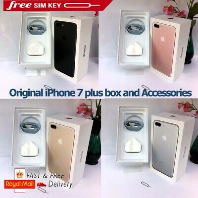 Original iPhone 7 Plus box only with Accessories 32GB 128GB 256GB