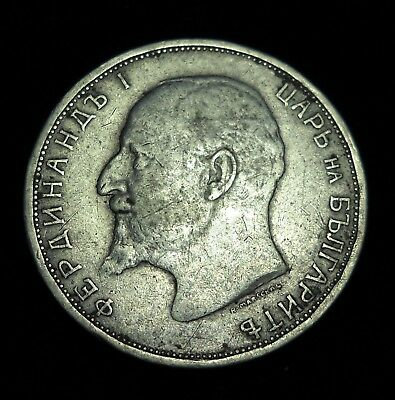 +++ Bulgaria 1912 2 Leva.  World - Foreign Silver Coin. FREE Shipping!