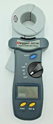 Megger DET10C - Earth & Ground Resistance Tester 1.55kΩ CAT II 600 V, CAT III 30