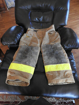 Morning Pride Bunker Turnout Firefighter Pants 42W 28L