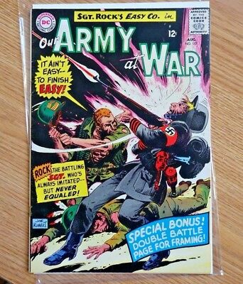 Our Army at War #157 (Aug 1965, DC)
