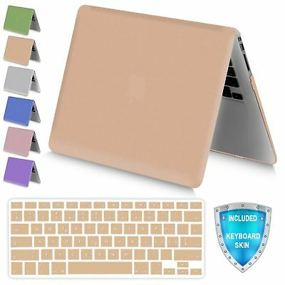 For Apple MacBook Air 13 A1369 A1466 Metallic Plastic Hard Case Keyboard Cover