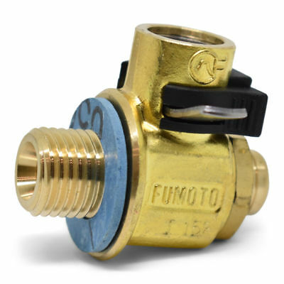 F106S: Fumoto® Valve 14Mm-1.5 With Short Nipple With Lc-10