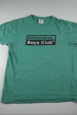 559c001da972 Billionaire Boys Club Box Logo T-Shirt Size L Rocket Ship BBC Spell Out