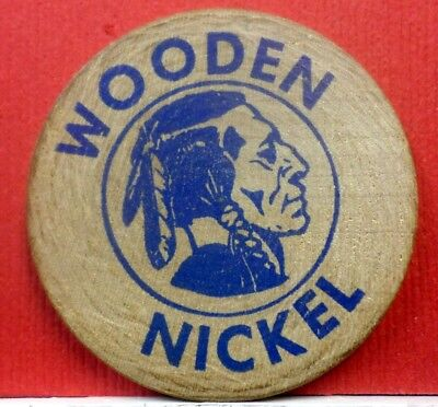 A Wooden Nickel First National Bank  A-818