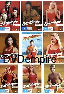 Baywatch Seasons 1-9 DVD New And Sealed Australia All Regions