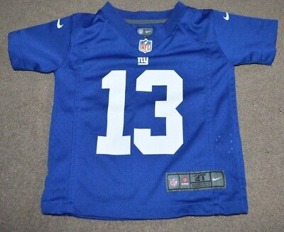 ODELL BECKHAM JR New York Giants Nike On Field Toddler Jersey 2T ... 04b9a20ea