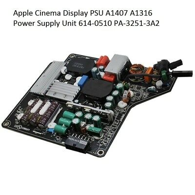 """Power Supply Board For APPLE 27"""" Cinema Display A1407 614-0487 PA-3251-3A  250W"""