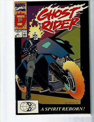 Ghost Rider #1  Vf/nm    Free Ship    Buy It Now    Comics