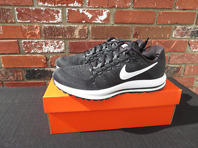 f1d2e6c8aca Nike Air Zoom Vomero 12 New Black Running Shoes Mens Many Sizes 863762-001