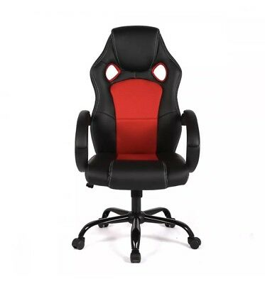 New High Back Racing Car Style Bucket Seat Office Desk Chair Gaming Chair R39