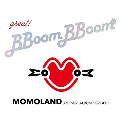 MOMOLAND - GREAT! (3rd Mini Album) CD+2 Photocards+Tracking no.