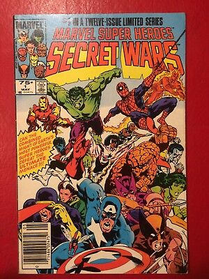 Marvel Secret Wars comic #1