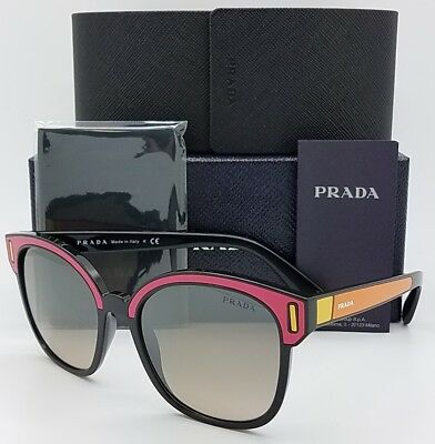 a80ff3f0ac New Prada sunglasses PR05US SVS4P0 Butterfly Pink Black Fashion PR 05US  GENUINE