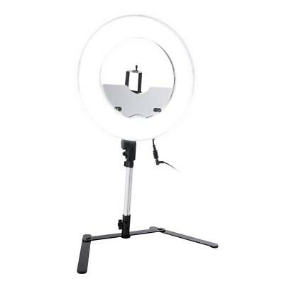 Impressions 13.5-Inch Desktop Dimmable LED Vanity Studio Ring Light
