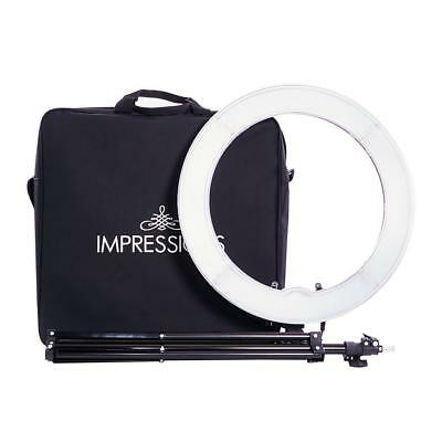 Impressions 18-Inch Dimmable LED Vanity Studio Ring Light