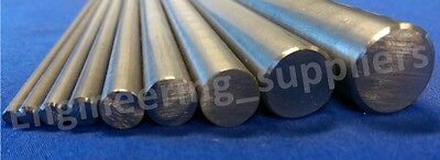 Bright Mild Steel Metal Rod/Bar 4, 5, 6, 8, 10, 12mm Dia, 100 - 600mm long EN1A