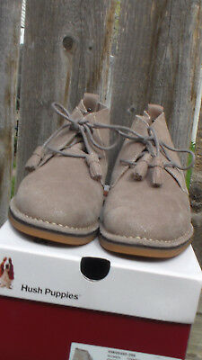4f43f84d3c3 HUSH PUPPIES CYRA Catelyn - Taupe Suede Chukka Boot - $99.99 | PicClick