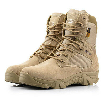 Tactical Military Ankle Boots Cordura Desert Combat Army Hiking Shoes DELTA 511