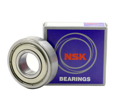 NSK 6201 ZZ Deep Groove Radial Ball Bearing 12x32x10mm
