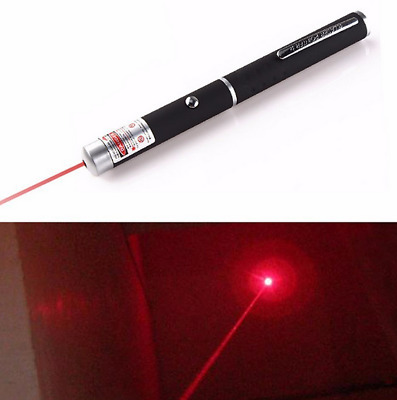 10Miles Portable Red Laser Pointer Pen 650nm Visible Beam Dog/Cat Toy Funny US