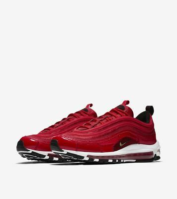 new product f1ba4 10295 Nike Air Max 97 Cr7 Red Cristiano Ronaldo Patchwork Uk 3.5 Us 4Y Eu 36  Deadstock