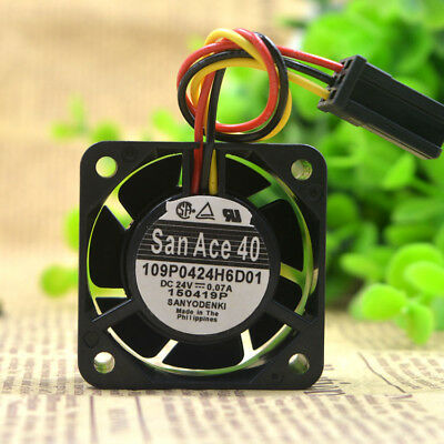 NEW  Sanyo 109P0424H6D01 4020 24V  0.07A  cooling fan  free shipping