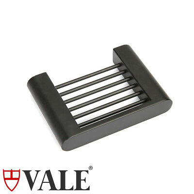 Matte Black Stainless Steel Soap Basket Dish Tray Holder Bathroom Wall Mounted