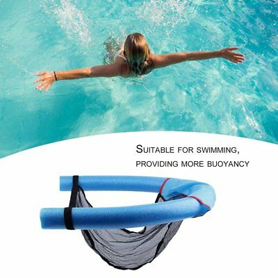 Universal Swimming Floating Chair Pool Noodle Chair Super Buoyancy Blue DE