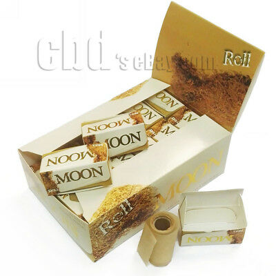 Moon Unbleached Rolls Papers 24 Rolls Tobacco Rolling Papers Smoking