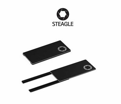 STEAGLE1.0 Laptop Webcam Cover for Privacy Shield (Black)