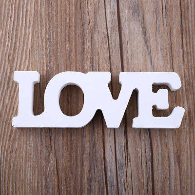 """Wooden Letter Word Word """"LOVE"""""""